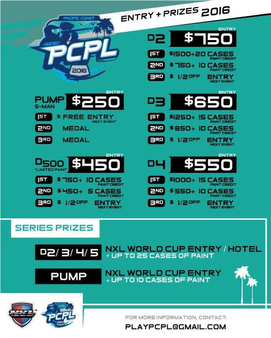 PCPL-Pacific-Coast-Paintball-Leauge-Prizes-Entry