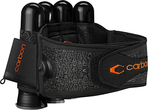 Carbon SC Harness Paintball 4-Pack Gray