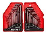 TEKTON Hex Key Wrench Set, 30-Piece...