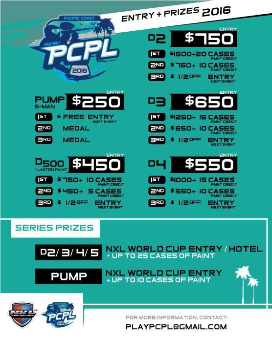 PCPL-Pacific-Coast-Paintball-Leauge-Prizes-Entry