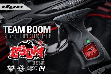 Green Bay Boom Dye Sponsorship