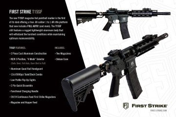 first strike paintball t15sf