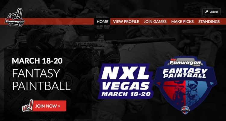 fantasy paintball nxl fanwagon
