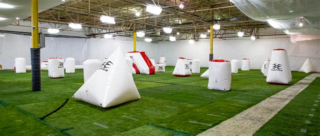 cpx indoor paintball field
