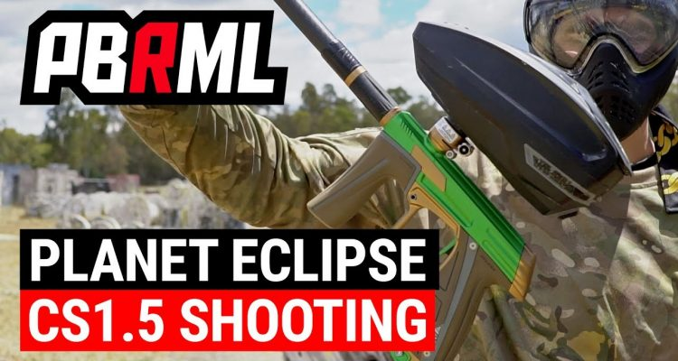 Planet Eclipse CS1.5 Shooting Video