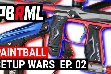 Paintball Setup Wars