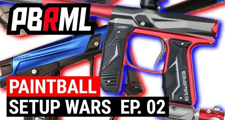 Paintball Setup Wars
