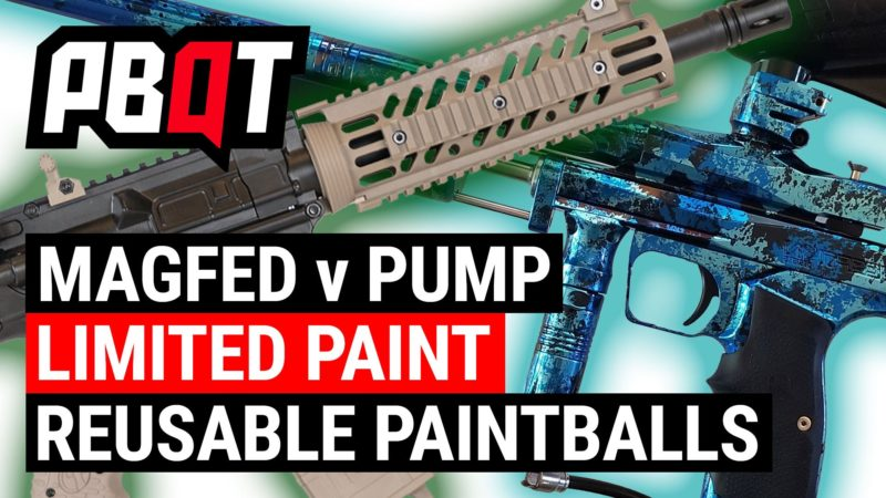 Best Paint For Pump Paintball