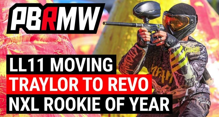 Paintball News - Living Legends, Max Traylor, NXL Rookie Of the year