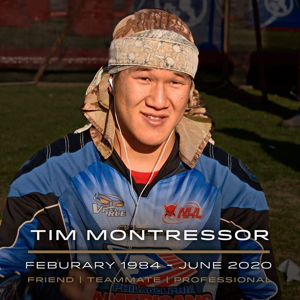 Tim Montressor passing